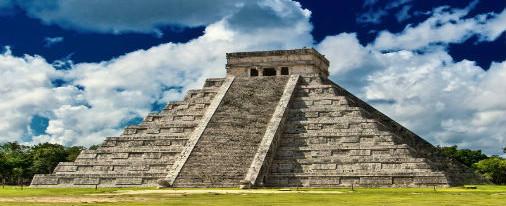 Descubren segunda pirámide al interior de la de Kukulkán, en Chichén Itzá